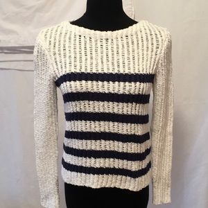 Rebecca Taylor, Loose Knit, Cotton Sweater, S
